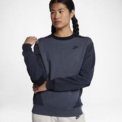 Женский свитшот Nike Sportswear Tech FleeceЖенский свитшот Nike Sportswear Tech Fleece из инновационного материала обеспечивает тепло и комфортную защиту без дополнительных слоев.<br>