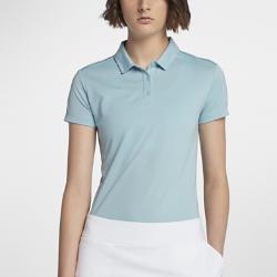 Женская рубашка-поло для гольфа Nike DryЖенская рубашка-поло для гольфа Nike Dry со стильным классическим силуэтом из влагоотводящей ткани обеспечивает комфорт во время игры.<br>