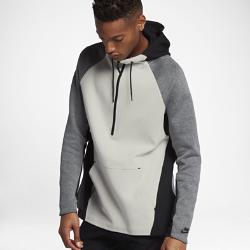 Мужская худи с молнией до середины груди Nike Sportswear Tech FleeceМужская худи с молнией до середины груди Nike Sportswear Tech Fleece обеспечивает легкость, тепло и регулируемую вентиляцию благодаря инновационной ткани и деталям на молнии.<br>