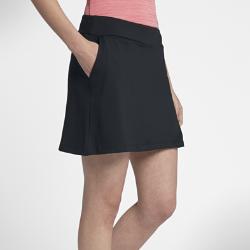 Юбка-шорты для гольфа Nike Dry 42 смЮбка-шорты для гольфа Nike Dry 42 см обеспечивает комфорт и защиту во время игры благодаря эластичной влагоотводящей ткани и вшитым шортам.<br>