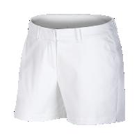 <ナイキ(NIKE)公式ストア>ナイキ フレックス ウィメンズ 11cm ウーブン ゴルフショートパンツ 884927-100 ホワイト画像