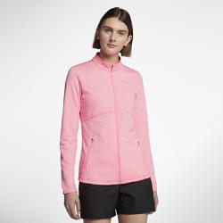Женская куртка для гольфа Nike DryЖенская куртка для гольфа Nike Dry обеспечивает адаптивную защиту и комфорт во время игры благодаря влагоотводящей ткани и конструкции с молнией во всю длину.<br>