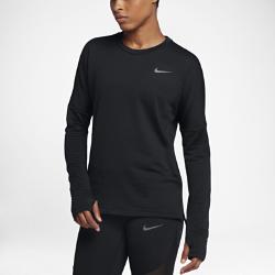 Женская беговая футболка с длинным рукавом Nike Sphere ElementЖенская беговая футболка с длинным рукавом Nike Sphere Element обеспечивает тепло и комфорт на пробежках в холодное время года.Свободный крой создает дополнительное пространство для свободы движений. Модель удобно надевать поверх майки или футболки.<br>