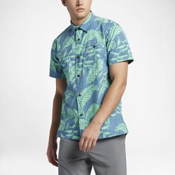 Мужская футболка с коротким рукавом Hurley BelizeМужская футболка с коротким рукавом Hurley Belize из прочного легкого хлопка с классическим воротником на пуговицах обеспечивает комфорт на весь день.<br>