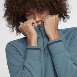 Мужская футболка с длинным рукавом для скейтбординга Nike SB EverettМужская футболка с длинным рукавом для скейтбординга Nike SB Everett — мягкая и теплая модель, напоминающая толстовку. Молния до середины груди позволяет регулировать посадку, а в низко расположенные карманы можно положить необходимые мелочи.  Оптимальная вентиляция и тепло  Молния до середины груди легко расстегивается, чтобы обеспечить вентиляцию, когда это необходимо. Когда молния застегнута, завышенная линия горловины помогает удерживать тепло.  Удобное хранение  В скрытые боковые карманы можно положить кошелек, телефон, ключи и другие важные мелочи.<br>