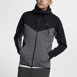 Мужская худи с молнией во всю длину Nike Sportswear Tech Fleece WindrunnerМужская худи с молнией во всю длину Nike Sportswear Tech Fleece Windrunner — новая версия классической беговой куртки Nike из особого гладкого флиса для легкости и тепла в прохладнуюпогоду.<br>