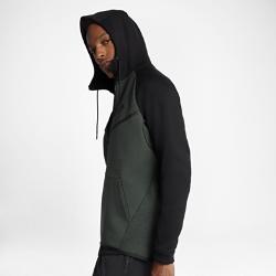 Мужская худи Nike Sportswear Tech Fleece WindrunnerМужская худи Nike Sportswear Tech Fleece Windrunner — новая версия классической беговой куртки Nike из особого гладкого флиса для легкости и тепла в прохладную погоду.<br>