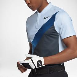 Мужская рубашка-поло для гольфа с облегающим кроем Nike Dry MomentumМужская рубашка-поло для гольфа с облегающим кроем Nike Dry Momentum из эластичной влагоотводящей ткани с перфорацией по всей поверхности обеспечивает вентиляцию и комфорт во время игры.<br>