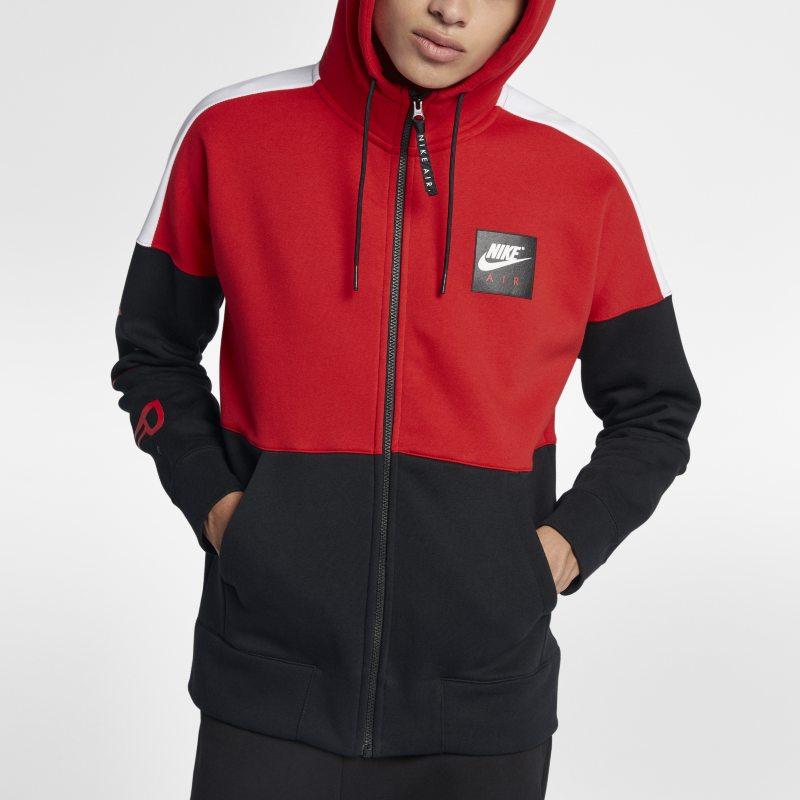 Nike Air Men s Fleece Hoodie - Red Image f1731c48d