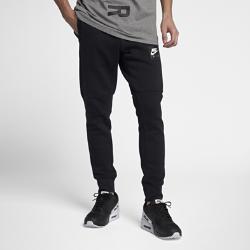 Мужские джоггеры Nike Sportswear AirМужские джоггеры Nike Sportswear Air с зауженным кроем из теплого флиса с начесом на изнаночной стороне обеспечивают комфорт.<br>