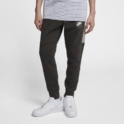 Мужские флисовые джоггеры Nike AirМужские джоггеры Nike Sportswear Air с зауженным кроем из флиса с начесом на изнаночной стороне обеспечивают комфорт.<br>