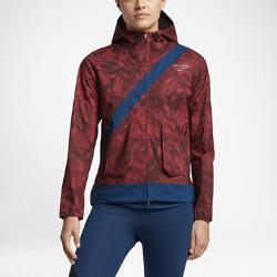 Женская беговая куртка NikeLab Gyakusou Camo LeafЖенская беговая куртка NikeLab Gyakusou Camo Leaf защищает от дождя, ветра и снега, позволяя полностью сконцентрироваться на беге. Джун Такахаши берет за основу уникальный дизайн Gyakusou и дополняет его графикой с лиственной тематикой в технике сублимационной печати в цветах, навеянных Токио.<br>
