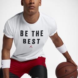 """Мужская футболка для тренинга Jordan Dry """"Beat The Best""""Мужская футболка для тренинга Jordan Dry """"Beat The Best"""" из влагоотводящей ткани обеспечивает комфорт во время тренировки.<br>"""