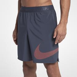 Мужские шорты для тренинга Nike Flex 20,5 смМужские шорты для тренинга Nike Flex 20,5 см из эластичной ткани с прилегающим кроем обеспечивают естественную свободу движений на тренировке.<br>