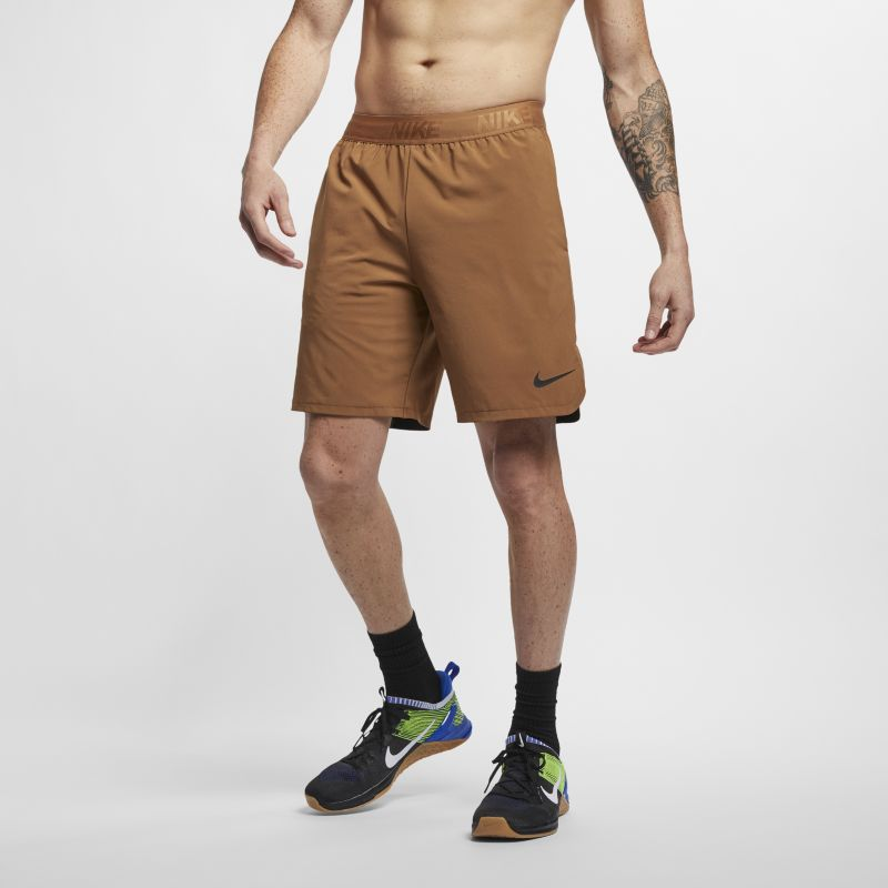 Nike Flex Men's 21cm Training Shorts - Brown