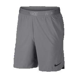 <ナイキ(NIKE)公式ストア>ナイキ フレックス メンズ 21cm トレーニングショートパンツ 886372-027 グレー 30日間返品無料 / Nike+メンバー送料無料