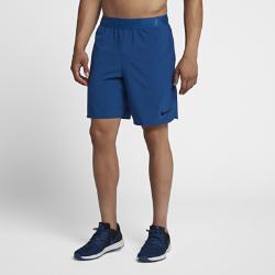 23%OFF!<ナイキ(NIKE)公式ストア>ナイキ フレックス メンズ 21cm トレーニングショートパンツ 886372-431 ブルー 30日間返品無料 / Nike+メンバー送料無料