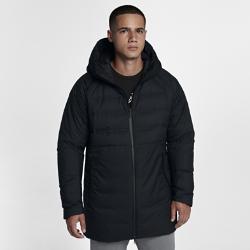 Мужская куртка с пуховым наполнителем Jordan AeroLoft HD ParkaМужская куртка с пуховым наполнителем Jordan AeroLoft HD Parka из легкого и теплого пуха с лазерной перфорацией сохраняет комфорт и тепло в холодное время года.<br>