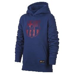 Худи для школьников FC BarcelonaХуди для школьников FC Barcelona из мягкой ткани френч терри с фирменными деталями обеспечивает комфорт на весь день.<br>