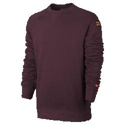 Мужская толстовка FC Barcelona French Terry AuthenticМужская толстовка FC Barcelona French Terry Authentic из мягкого смесового хлопка обеспечивает тепло и комфорт.<br>