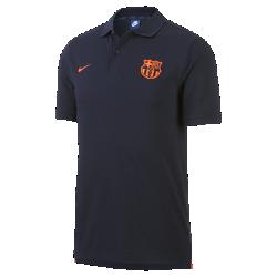 Мужская рубашка-поло FC Barcelona PiqueМужская рубашка-поло FC Barcelona Pique с классическим профилем и символикой команды обеспечивает оптимальный комфорт на трибунах и на улицах города.<br>