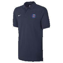 Мужская рубашка-поло Paris Saint-GermainМужская рубашка-поло Paris Saint-Germain с традиционным силуэтом и тканым логотипом команды обеспечивает классический уровень комфорта.<br>