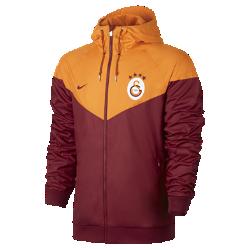 Мужская куртка Galatasaray S.K. Authentic WindrunnerМужская куртка Galatasaray S.K. Authentic Windrunner сохранила классические элементы оригинальной модели: шеврон на груди и прочную ткань, которая защищает от непогоды во время игры и на улицах города.<br>