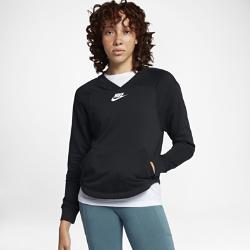 Женская толстовка Nike SportswearЖенская толстовка Nike Sportswear с внутренней частью из мягкого флиса с начесом обеспечивает комфорт и тепло в прохладную погоду.<br>