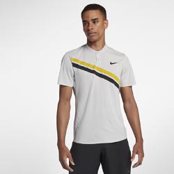 Мужская теннисная рубашка-поло NikeCourt Zonal Cooling RF AdvantageРоджер Федерер точно знает, как повысить градус игры. Мужская теннисная рубашка-поло NikeCourt Zonal Cooling RF Advantage обеспечивает охлаждение и комфорт во время самых интенсивных матчей.  Зональная воздухопроницаемость  Технология Zonal Cooling усиливает вентиляцию там, где это необходимо.  Отведение влаги  Ткань с технологией Dri-FIT отводит влагу от кожи и обеспечивает комфорт.  Свобода движений  Эластичная ткань не сковывает движения при любом ударе.<br>