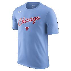 Мужская футболка НБА Chicago Bulls City Edition Nike DryМужская футболка НБА Chicago Bulls City Edition Nike Dry с уникальными деталями в стиле командной формы City Edition демонстрирует твою любовь к городу. Эта комфортная модель в повседневном стиле подходит для любой ситуации.<br>