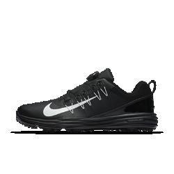 Мужские кроссовки для гольфа Nike Lunar Command 2 BoaДумай об игре, а не о том, что на тебе надето. Nike Lunar Command 2 BOA сочетают легкую систему амортизации с усовершенствованной системой фиксации. Эта обувь обеспечивает комфорт и надежную поддержку до финального удара.  Надежная фиксация  Функциональная система фиксации BOA обеспечивает максимальный комфорт благодаря плотной посадке и отсутствию точек давления. В зафиксированном состоянии системаBOA обеспечивает надежную посадку. Ее можно легко отрегулировать одним движением руки.  Максимальный комфорт  Пеноматериал во всю длину стопы обеспечивает легкость, мягкость и упругую амортизацию.  Оптимальный контроль  Легкий супинатор в средней части стопы создает стабилизацию для превосходного контроля движений.<br>