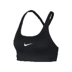 Спортивное бра Nike Classic StrappyСпортивное бра Nike Classic Strappy из влагоотводящей компрессионной ткани обеспечивает комфорт и поддержку во время тренировки.<br>