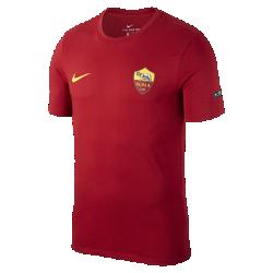 Мужская футболка A.S. Roma CrestМужская футболка A.S. Roma Crest из мягкого хлопка обеспечивает длительный комфорт на трибунах и на улице.<br>