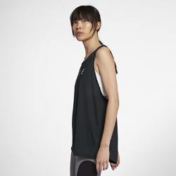 Женская майка для тренинга Nike DryЖенская майка для тренинга Nike Dry из влагоотводящей ткани обеспечивает охлаждение и комфорт во время тренировок.<br>