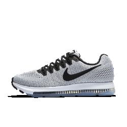 Женские беговые кроссовки Nike Zoom All Out LowЖенские беговые кроссовки Nike Zoom All Out Low со вставкой Nike Zoom Air длиной 3/4 обеспечивают надежную фиксацию, вентиляцию и комфорт во время интенсивных пробежек.  Стабилизация и скорость  Видимая вставка Nike Zoom Air длиной 3/4 шире стандартных вставок. Это обеспечивает упругую амортизацию, стабилизацию и поддержку.  Воздухопроницаемость и комфорт  Верх из сетки обеспечивает вентиляцию, комфорт и невесомую поддержку.  Надежная фиксация  Технология Flywire — это прочные и легкие нити, интегрированные со шнурками, которые обеспечивает плотную и надежную посадку в средней части стопы.<br>