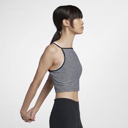 Женская майка для тренинга Nike Power CroppedЖенская майка для тренинга Nike Power Cropped из влагоотводящей компрессионной ткани обеспечивает комфорт и поддержку во время тренировки.<br>