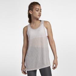 Женская майка для тренинга Nike BreatheЖенская майка для тренинга Nike Breathe из легкой влагоотводящей ткани обеспечивает охлаждение и комфорт.<br>