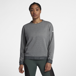 Женская футболка для тренинга с длинным рукавом Nike DryЖенская футболка для тренинга с длинным рукавом Nike Dry из влагоотводящей ткани обеспечивает комфорт во время тренировки.<br>