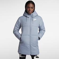 Женская парка из тканого материала Nike Sportswear Advance 15Женская парка из тканого материала Nike Sportswear Advance 15 из гладкой и прочной тафты дополнена легким наполнителем для тепла.<br>