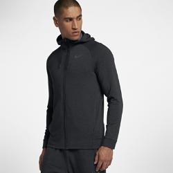 Мужская худи с молнией во всю длину для тренинга Nike Dri-FITМужская худи с молнией во всю длину для тренинга Nike Dri-FIT из влагоотводящей ткани с рукавами покроя реглан обеспечивает комфорт и свободу движений на каждой тренировке.<br>