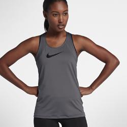 Женская майка для тренинга Nike ProЖенская майка для тренинга Nike Pro из влагоотводящей сетки обеспечивает вентиляцию и комфорт во время тренировок. Модели верха Nike Pro с абсолютно новым плотно прилегающим кроем обеспечивают комфорт и свободу движений. В ткани не применяются технологии компрессии, а посадка стала более свободной. Подробнее см. в таблице размеров.<br>