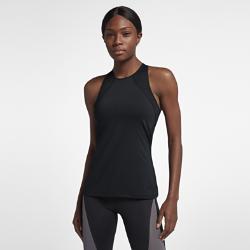 Женская майка для тренинга Nike Pro HyperCoolЖенская майка для тренинга Nike Pro HyperCool из сетки и эластичной ткани обеспечивает вентиляцию и комфорт во время тренировки.Модели верха Nike Pro с абсолютно новым плотноприлегающим кроем обеспечивают комфорт и свободу движений. В ткани не применяются технологии компрессии, а посадка стала более свободной. Подробнее см. в таблице размеров.<br>