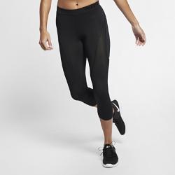 Женские капри для тренинга Nike Pro HyperCoolЖенские капри для тренинга Nike Pro HyperCool из эластичной ткани со вставками из дышащей сетки обеспечивают вентиляцию и комфорт во время тренировки.<br>