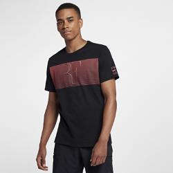 Мужская футболка NikeCourt RFМужская футболка NikeCourt RF из прочного 100% хлопка обеспечивает комфорт на весь день.<br>