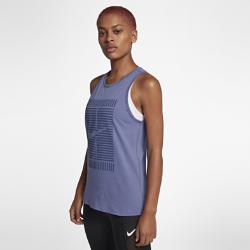 Женская майка NikeCourtЖенская майка NikeCourt из чистого хлопка с Т-образной спиной обеспечивает комфорт и естественную свободу движений на каждый день.<br>
