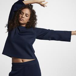 Женская футболка NikeLab Essentials Long SleeveЖенская футболка NikeLab Essentials Long Sleeve свободного кроя из ткани двойного переплетения с рукавами покроя реглан обеспечивает комфортную посадку.<br>