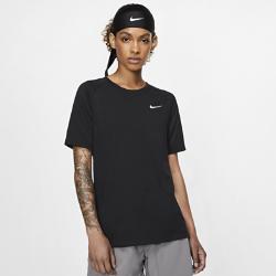 Женская беговая футболка с коротким рукавом Nike TailwindЖенская беговая футболка с коротким рукавом Nike Tailwind из мягкой дышащей ткани обеспечивает комфорт во время бега.Круглый вырез и удлиненный силуэт создают необходимую защиту.<br>