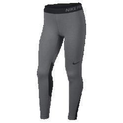 Тайтсы для тренинга для девочек школьного возраста Nike ProТайтсы для тренинга для девочек школьного возраста Nike Pro из эластичной ткани обеспечивают поддержку и комфорт во время игр и тренировок.<br>