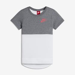 Футболка с коротким рукавом для девочек школьного возраста Nike SportswearФутболка с коротким рукавом для девочек школьного возраста Nike Sportswear из сверхмягкой ткани со свободным спортивным кроем обеспечивает комфорт на каждый день.<br>