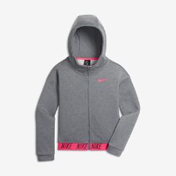Худи для девочек школьного возраста Nike Dri-FITХуди для девочек школьного возраста Nike Dri-FIT из влагоотводящей ткани обеспечивает комфорт на тренировках, школьных занятиях и в любой другой ситуации.<br>